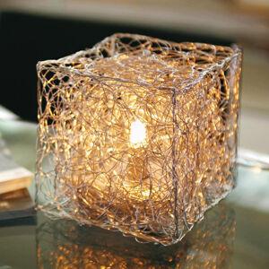 Knikerboker Knikerboker Qubetto – stolná lampa v tvare kocky