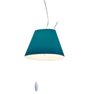 Luceplan Luceplan Costanzina závesná lampa v petrolejovej