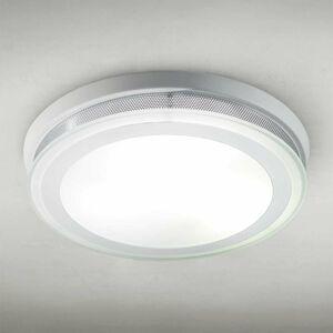 Lam Okrúhle stropné svietidlo RING 9115 37cm biele