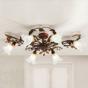 Lam Šesť-plameňové florentské stropné svietidlo Zarah