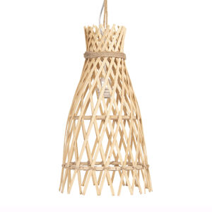 Clayre & Eef Závesná lampa 632 z dreva