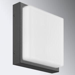 LCD Nástenné svietidlo Ernest E27 bez snímača grafit