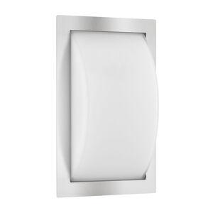 LCD Vonkajšie LED svietidlo Ivett, ušľachtilá oceľ