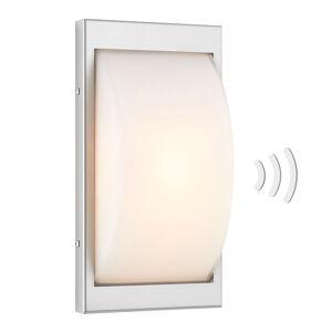 LCD Vonkajšie LED svietidlo 068LEDSEN, ušľachtilá oceľ
