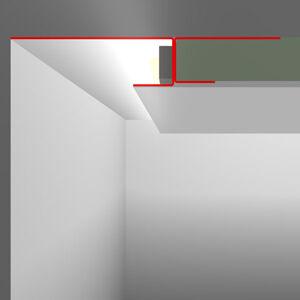 LED Profilelement GmbH SNL profil suchú montáž 40mm viditeľná časť