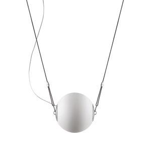 LUMINA Lumina Perla závesná lampa sklenená guľa Ø 28cm