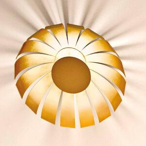 Marchetti Pozlátené dizajnérske stropné LED Loto 33cm