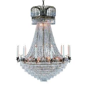 Markslöjd Veľkolepý sviečkový visiaci luster Lacko 92cm