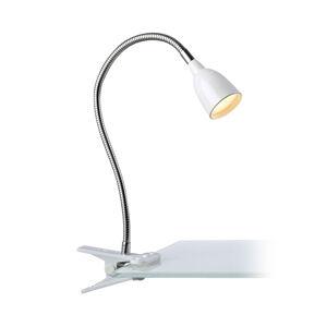 Markslöjd Upínacia LED lampa Tulip, biela