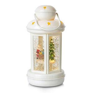 Markslöjd Trblietkami plnená LED lucerna Cosy biela