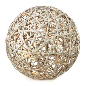 Markslöjd LED dekoračná lampa Sofus do exteriéru ako guľa