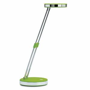 Jakob Maul Trendy LED lampa na písací stôl Puck v zelenej
