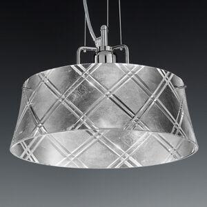 Mettallux Závesná lampa Corallo 30 1-plameňová striebro