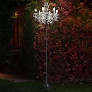 Masiero RGBW vonkajšia stojaca lampa Drylight – aplikácia