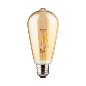 Müller-Licht E27 7W rustikálna LED žiarovka zlatá