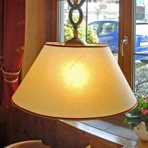 Menzel Menzel Provence Chalet – závesná lampa v žltej