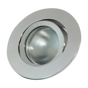 MEGATRON Zapustený LED prstenec DecoclicGU10/GU5.3 striebro