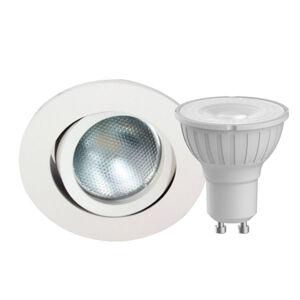 MEGATRON Megaman DecoclicSet LED prstenec GU10 4,2W biely