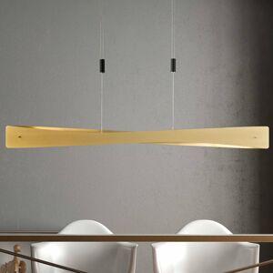 Lucande Lucande Lian závesné LED svietidlo mosadz čierna