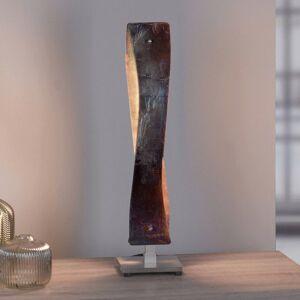 Lucande Lucande Lian stolná LED lampa, zlatá oxidovaná
