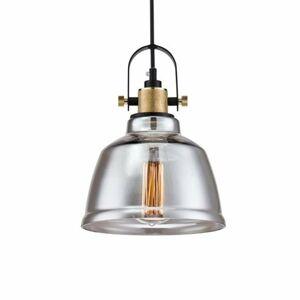 Maytoni Irving – vintage závesná lampa zo skla