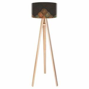 Maco Design Stojaca lampa Jamila v etno dizajne trojnohá