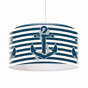 Maco Design Maritime závesná lampa Ahoj s motívom kotvy