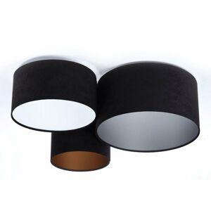 Maco Design Stropné svietidlo 080 čierne+tricolor