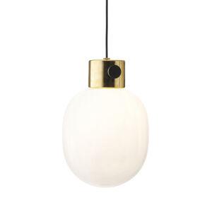 MENU Menu JWDA závesná lampa z mosadze a opálového skla