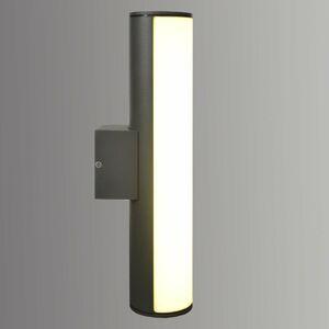 Näve Podlhovasté nástenné LED svetlo Liva hliník
