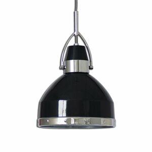 Näve Priemyselne navrhnutá závesná lampa Britta čierna
