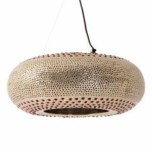 Näve Závesná lampa Affections Ø 55cm zlato-farebná