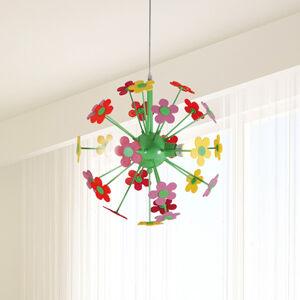 Näve Závesná lampa Flower s farebnými kvetmi