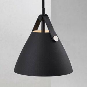 Nordlux Závesná lampa Strap, Ø 16,5cm, čierna