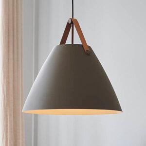 Nordlux Závesná lampa Strap kovové tienidlo béžová 48cm