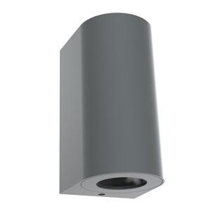 Nordlux Vonkajšie nástenné svietidlo Canto Maxi 2, sivé