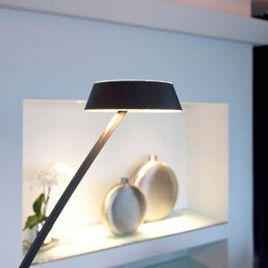 OLIGO OLIGO Glance stojaca LED zakrivená, čierna matná