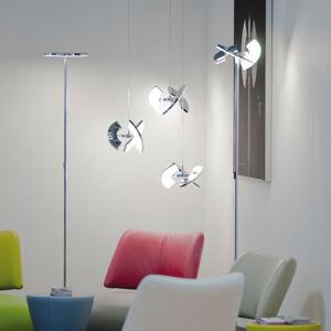 OLIGO OLIGO Trinity závesné LED, 3 pohyblivé segmenty