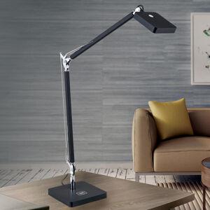 Orion Schopná QI LED lampa na písací stôl Dave čierna