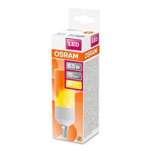 OSRAM OSRAM Stick Flame LED žiarovka E14 0,5W 1.500K