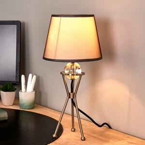 Pamalux Výkyvná stolná lampa Zsa sivá