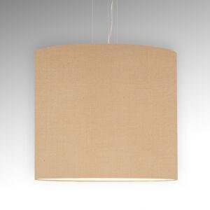 Pamalux Jednoduchá závesná lampa Tono, béžová Ø 60cm