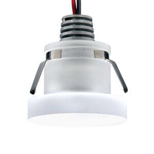 Pamalux Zapustené LED svietidlo Cristalin, okrúhle, IP44