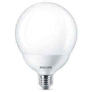 Philips Philips guľatá LED E27 G120 10,5W 2.700K biela