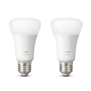 Philips HUE Philips Hue White 9 W E27 LED žiarovka balenie 2ks