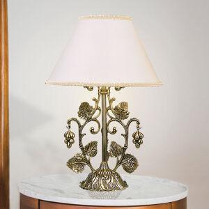 RIPERLamP Stolná lampa Albero zlatá čiernená leštená, biela