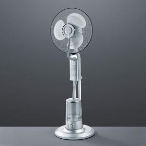 Reality Leuchten Stojaci ventilátor Andreas so zvlhčovačom vzduchu