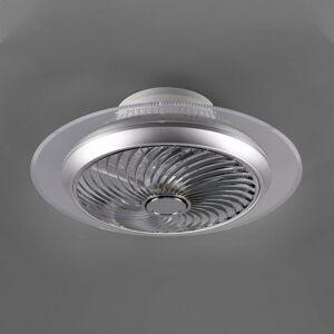 Reality Leuchten Stropný LED ventilátor Narvik, Tunable White