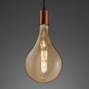 Reality Leuchten WiZ E27 Giant kvapková LED 7W dim CCT filament