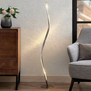 Lindby Lindby Criostal stojaca LED lampa so zmenou farby